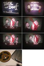 Super 8 mm Film-Dick und Doof als Zeichentrickfilm mit Ton-Der Steinzeitmensch