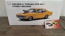 1:18 Biante Holden LJ GTR XU1 Torana Custom Blown in Toxic Yellow, A9X Brock HDT