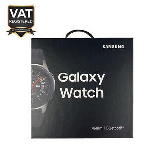 """Samsung Galaxy Watch 46mm 4GB 1.3"""" AMOLED Screen Bluetooth - Silver"""