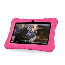 "7 "" Kids Tablet PC Android 7.1 Quad Core 1GB+16GB WiFi Dual Camera Speaker Mic"