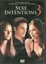 DVD - SEXE INTENTIONS 3 avec KERR SMITH, KRISTINA ANAPAU / COMME NEUF