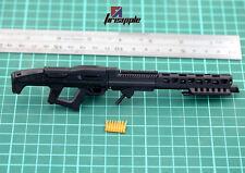 "1:6 Scale Weapon Model Assembly Avatar Machine Gun 4D Plastic MG62 F 12"" Figure"