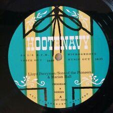 Hootenavy VA AFRTS LP Lloyd Perryman Sons of the Pioneers Marian Hall VG
