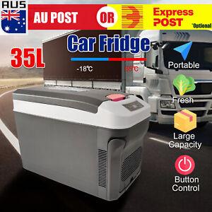 35L Portable Camping Fridge Car Boat Caravan Home Cooler Warmer Refrigerator Z