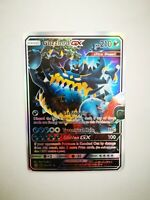 63A/111 carte holo prism Pokemon GX HP Anglaise replica FAN CARD GUZZLORD