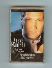 STEVE WARINER - NO MORE MR. NICE GUY - CASSETTE - NEW