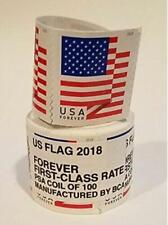 1 coil ~ Brand New Sealed Roll / 100 USPS Forever Postage Stamps ~Free Shipping