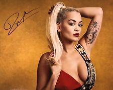 Rita Ora Autographed Photo Rita Ora Signed Photo 11x17 Picture Music Singer #1
