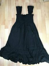 Hard Tail Black Dress Medium Smocking