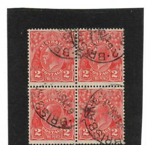 KGV block of 4 - Used (BY91)