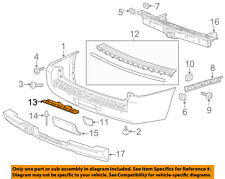 Chevrolet GM OEM 15-17 Tahoe Rear Bumper-Lower Bracket 22936465