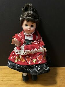 "Madame Alexander 8"" Wendy Colorful Portugal Doll 35975 No Box"