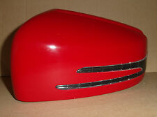Mercedes A B C E S Wing Door Mirror Cover Passenger Left LED Indicator Red 3589