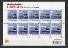 Nederland NVPH 3013 Ab12Vel Vuurtorens Lighthouse Paard van Marken 2013 Postfris