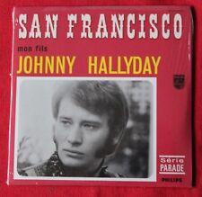 Johnny Hallyday, San Francisco / mon fils, CD single