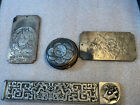 Antique  Leather Coin Purse And Buddha Bars Sterling?