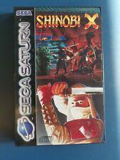 Shinobi X Sega Saturn PAL