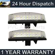 2X FOR TOYOTA AVENSIS VERSO CAMRY YARIS PRIUS PREVIA 18 LED NUMBER PLATE LAMP