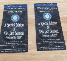 All Star Weekend Minnesota 1994 Nba Jam Session Tickets Pair