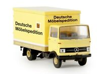 Brekina 48555 - 1/87 Mercedes-Benz LP 608 Suitcase - Dms / Marshall - New