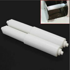 White Replacement Toilet Paper Roll Holder Roller Spindle AU Insert Spring N7F4