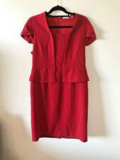 Jigsaw, Red Dress, Size 14,