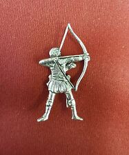 Robin Hood Pin Badge - Pewter - Archer - Archery
