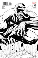 Venom #1 (RARE Black & White Variant Cover) 1st Printing