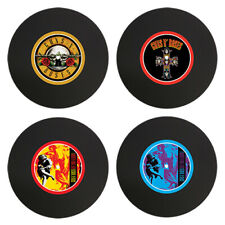 GUNS `N` ROSES VINYL DRINK COASTERS SET OF 4