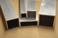 Alu Vierkantrohr 20x20x2 Aluprofil Aluminium 1000mm