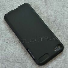 New Black TPU matte Gel skin case cover for Ipod Touch 5 5Gen