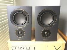 Mission LX-2 (Black) Pair of Bookshelf Speakers