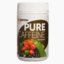 1 x 100 PURE CAFFEINE TABLETS  Coffee Berry Tablets Organic Gluten Free