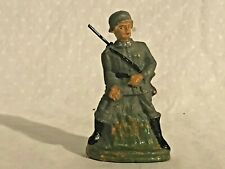 1930's-40's RARE Composition German Soldier Lineol Elastolin Unusual