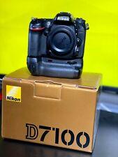 Nikon D7100 24.1 MP Digital SLR Camera - Black, Body Only with Battery Grip