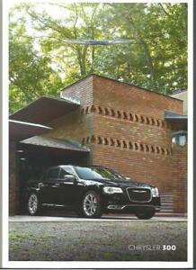 2011-2015 CHRYSLER 300C PRESTIGE BROCHURE (AUSSIE Specs) you choice of brochure