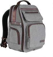 K&F Concept Waterproof Multi-function DSLR Camera Backpack Nylon Grey Large(X) S