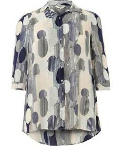 STUDIO 8 Rozz Multi-Coloured Blouse Size UK 20  Rrp £65  *Brand New with Tags*