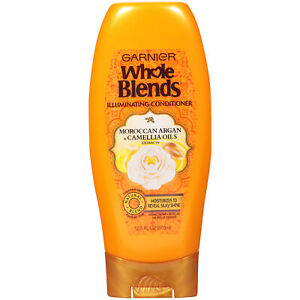 Garnier Whole Blends Conditioner with Moroccan Argan & Camellia Oils Extracts
