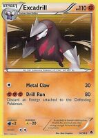 BW EMERGING POWERS POKEMON HOLO CARD - EXCADRILL 56/98