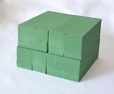 Wet floral foam bricks x 4 Excellent value for fresh flowers