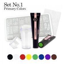 Christrio- Stamping Paint Gel kit #1