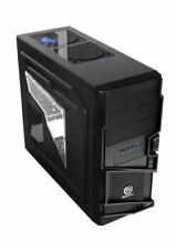 Thermaltake Commander MS-I Mid Tower Black Gaming Case (Window), VN400A1W2N