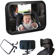 New Large Wide View Car Baby Child Inside Mirror View Rear Ward Back Safety UK