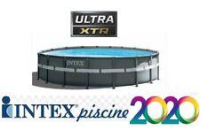 PISCINA INTEX FUORITERRA 488X122 CON POMPA A SABBIA 4500 LT/H ROTONDA TONDA NEW