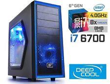 INTEL Core i7 6700 4.0GHz GAMING COMPUTER 1TB & 240GB SSD 16GB HDMI Desktop PC