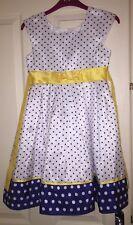 Jona Michelle Girls Spotty Dress, Age 8 Years - Beautiful!