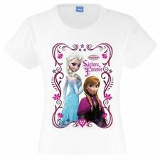 Camisetas y tops de niña de 2 a 16 años de manga corta color principal blanco 100% algodón