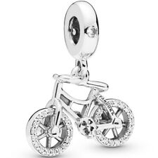 PANDORA Charm Dangle Element 797858 CZ Brilliant Bicycle Silber Beads