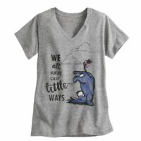 Eeyore Tee for Women Winnie The Pooh Themes We all have our little ways Large